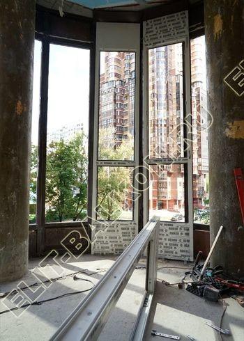 fasadnoe osteklenie balkona ot pola do potolka 13 387x291 - Фото фасадного остекления балкона № 76