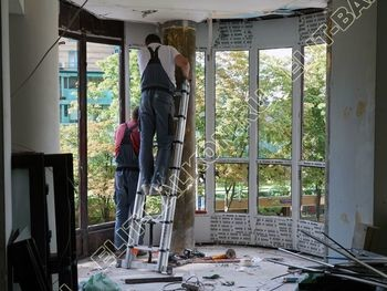 fasadnoe osteklenie balkona ot pola do potolka 23 387x291 - Фото фасадного остекления балкона № 76