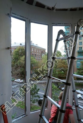 fasadnoe osteklenie balkona ot pola do potolka 24 387x291 - Фото фасадного остекления балкона № 76