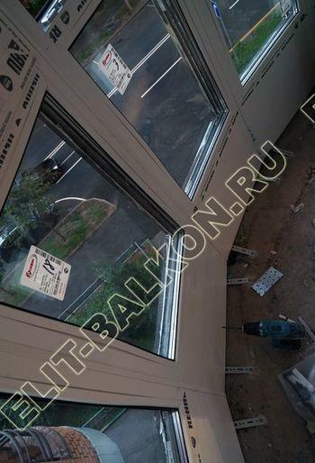 fasadnoe osteklenie balkona ot pola do potolka 30 387x291 - Фото фасадного остекления балкона № 76