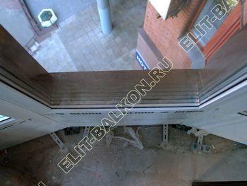 fasadnoe osteklenie balkona ot pola do potolka 34 387x291 - Фото фасадного остекления балкона № 76