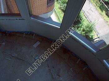 fasadnoe osteklenie balkona ot pola do potolka 38 387x291 - Фото фасадного остекления балкона № 76