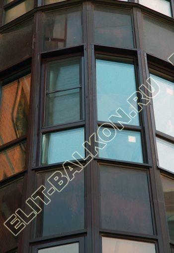 fasadnoe osteklenie balkona ot pola do potolka 44 387x291 - Фото фасадного остекления балкона № 76