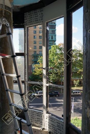 fasadnoe osteklenie balkona ot pola do potolka 6 387x291 - Фото фасадного остекления балкона № 76