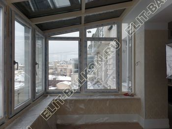osteklenie balkona PVH 11 387x291 - Фото остекления балкона № 78