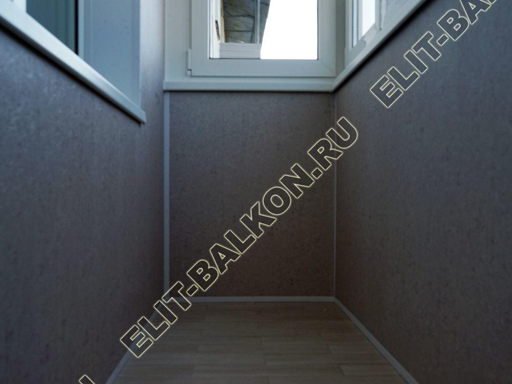 osteklenie balkona pvh ukreplenie parapeta vnutrennjaja otdelka pol plitka 6 - Отделка балкона стеновыми панелями МДФ