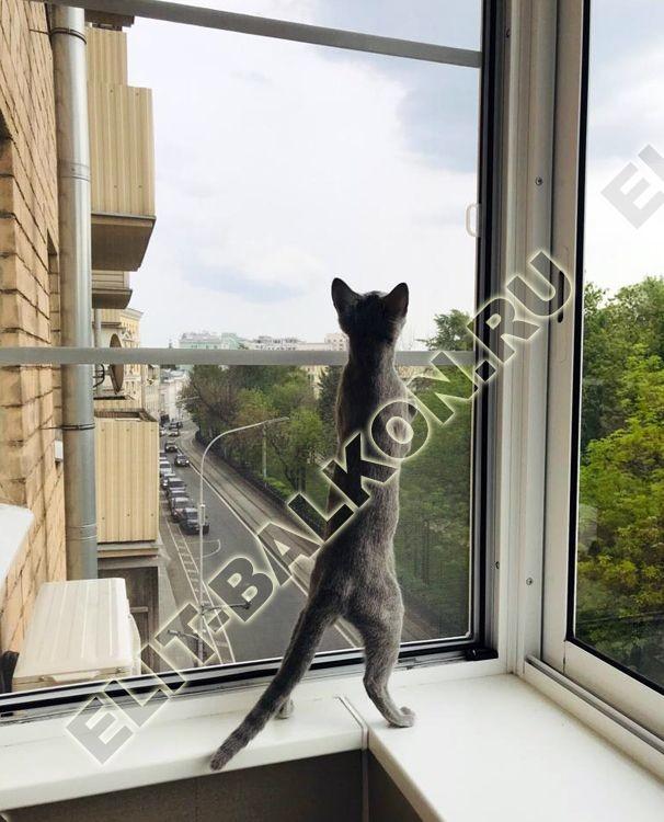 Сетка на окна балкона