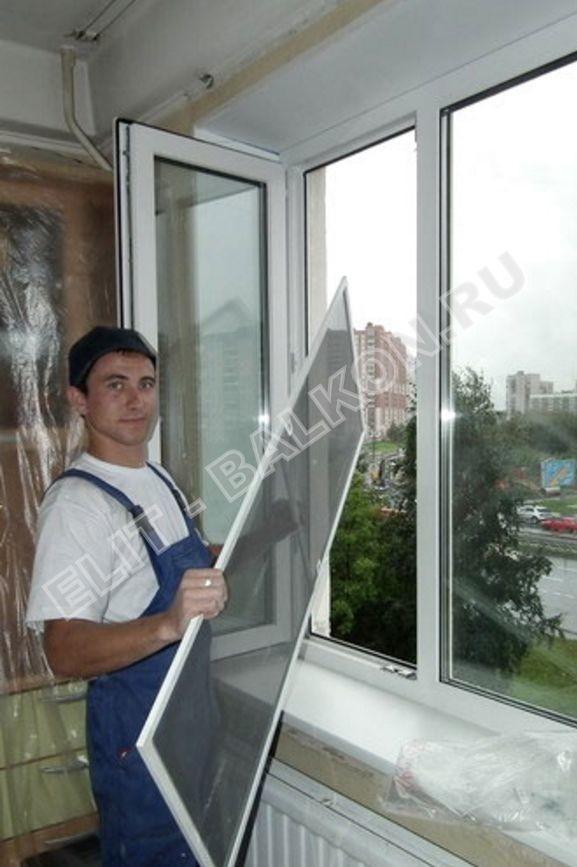 setki mozkitnye antikoshka na okna pvh 14 - Монтаж окон