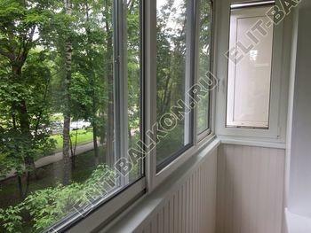 osteklenie balkona razdvizhnym aljuminiem vnutrennjaja otdelka sushka 8 387x291 - Фото остекления балконов и лоджий в Москве - Балконы алюминий