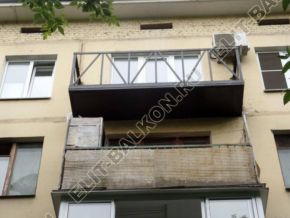 Отделка «холодного» балкона