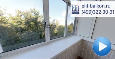 Утепление и ремонт балкона с остеклением и отделкой ПВХ